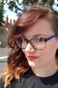 Aconyte editor, Charlotte Llewelyn-Wells