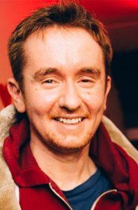 Aconyte author, Robbie MacNiven