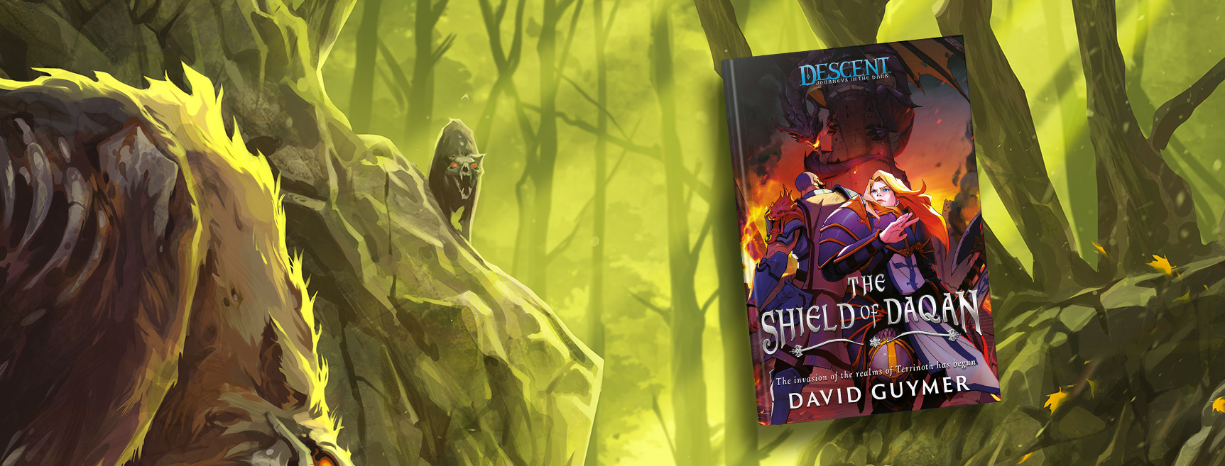 Descent: The Shield of Daqan by David Guymer