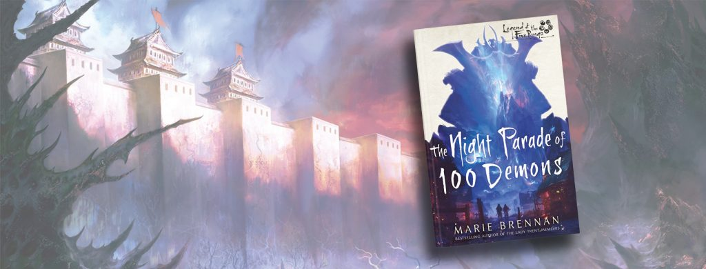 The Night Parade of 100 Demons, A Legend of the Five Rings Novel